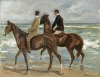 Max Lieberman's 'Two Riders on the Beach,' 1901.