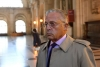 Franco-American art-dealer Guy Wildenstein arrives for his trial at the courthouse in Paris on Sept. 22, 2016.