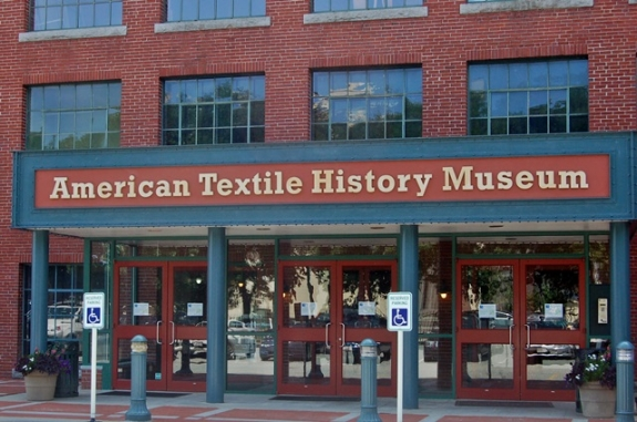 The American Textile History Museum in Lowell, MA.
