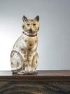 Lot 690: Chalk cat, est. $6/8,000.